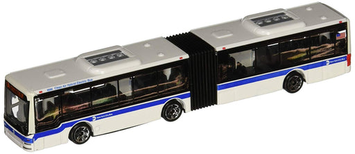 "6"" MTA Articulated New York City Small Diecast Toy Bus Vehicle"