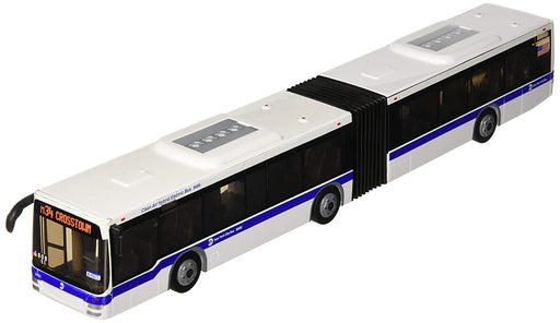 "Daron 16"" Plastic MTA New York City Articulated Bus"