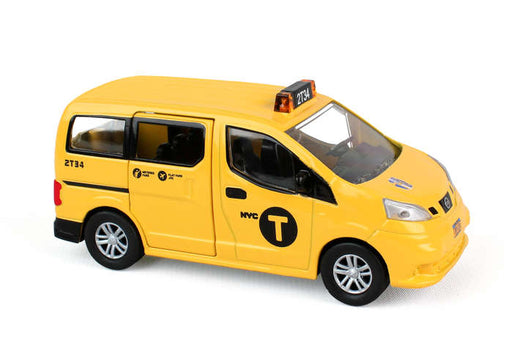 Daron New York City NYC 1/43 Scale Diecast Nissan NV200 Taxi Vehicle