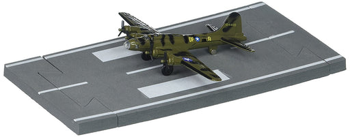 Daron Runway24 Diecast Metal Toy with Runway Section - B-17 Olive Green/Camo