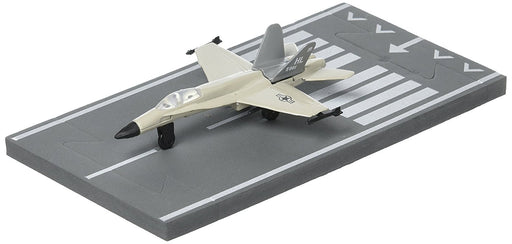 Daron Runway24 Diecast Metal Toy with Runway Section - F/A-18 Military