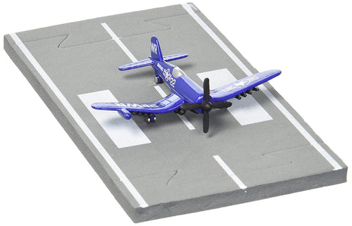 Daron Runway24 Diecast Metal Toy with Runway Section - F4U USMC