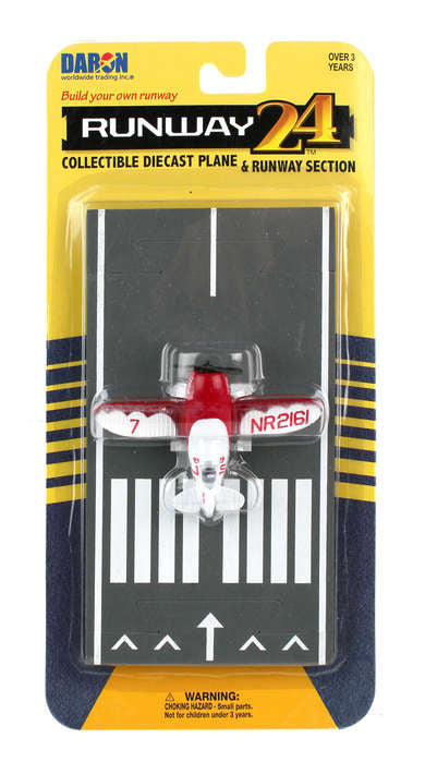 Daron Runway24 Diecast Metal Toy with Runway Section - Gee Bee Racer
