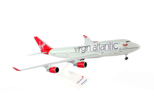Daron Skymarks Virgin Atlantic 747-400 1/200 W/Gear Model Aircraft