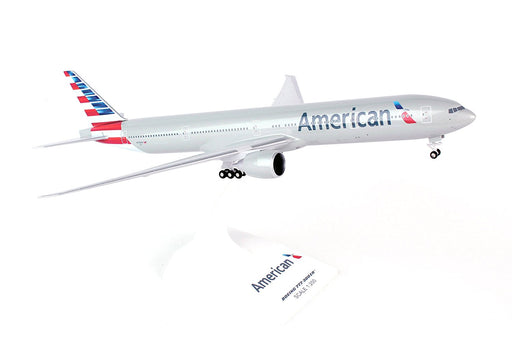Daron Skymarks American 777-300 1/200 W/Gear New Livery Model Aircraft