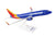 Daron Skymarks Southwest 737-800 1/130 New Livery Heart One Plastic Model Plane