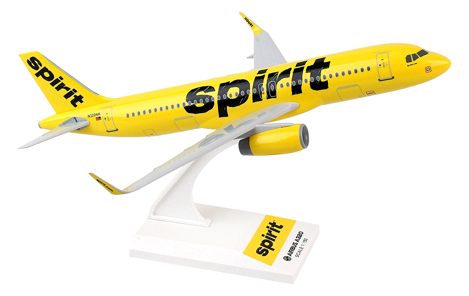 Daron Skymarks Spirit A320 1/150 Plastic Model Commercial Airlines Airplane