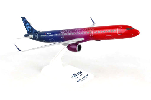 Daron Skymarks Alaska A321neo 1/150 More To Love Model Aircraft