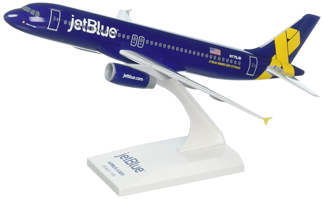 Daron Skymarks Jetblue A320 1/150 Veterans Model Aircraft
