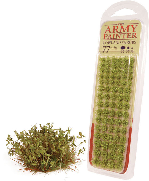 The Army Painter Battlefields XP: Lowland Shrubs Miniature Scenery Flock
