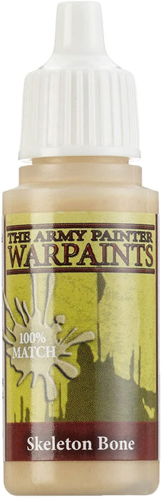 The Army Painter Acrylic Warpaints: Skeleton Bone 18mL Eyedropper Paint Bottle