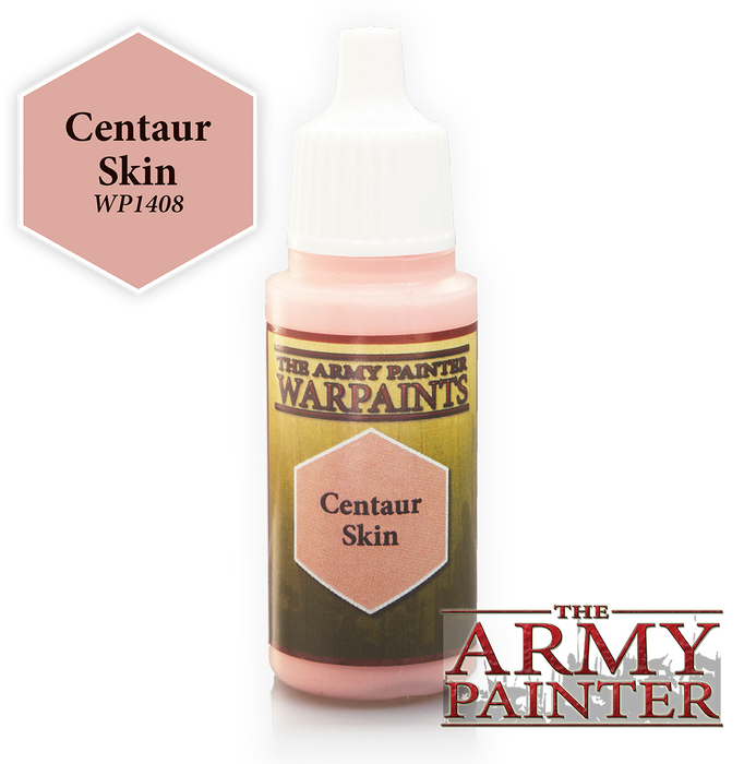 The Army Painter Acrylic Warpaints: Centaur Skin 18mL Eyedropper Paint Bottle
