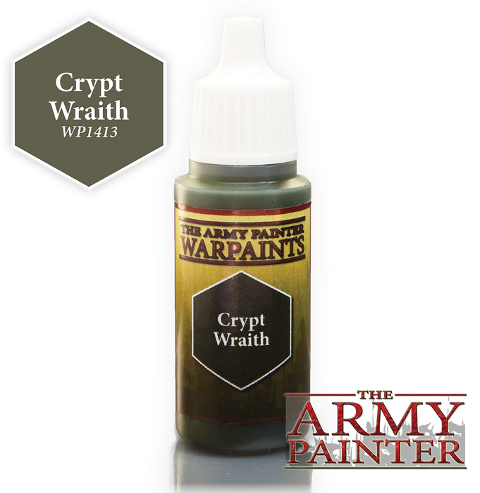 The Army Painter Acrylic Warpaints: Crypt Wraith 18mL Eyedropper Paint Bottle