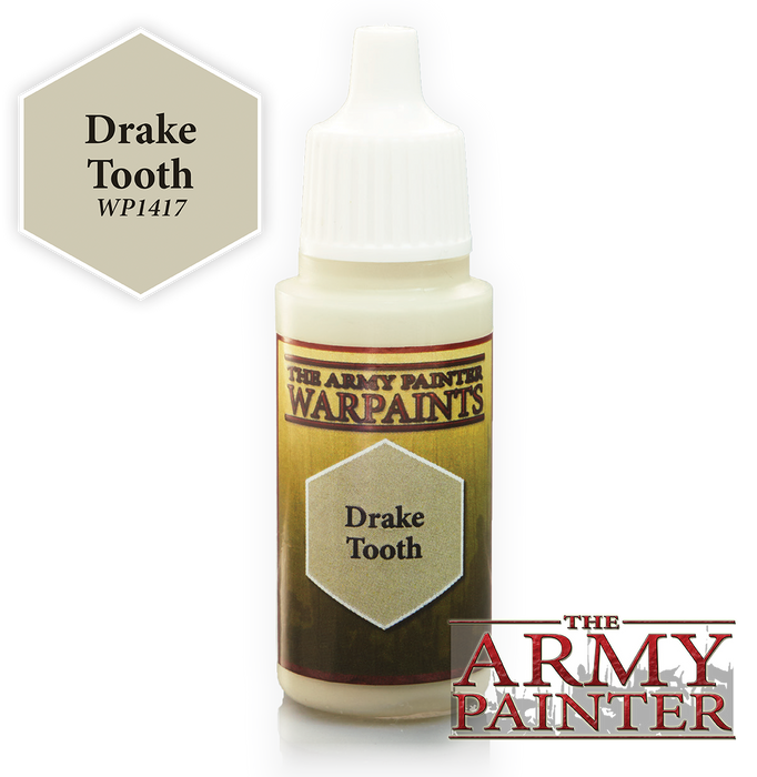 The Army Painter Acrylic Warpaints: Drake Tooth 18mL Eyedropper Paint Bottle