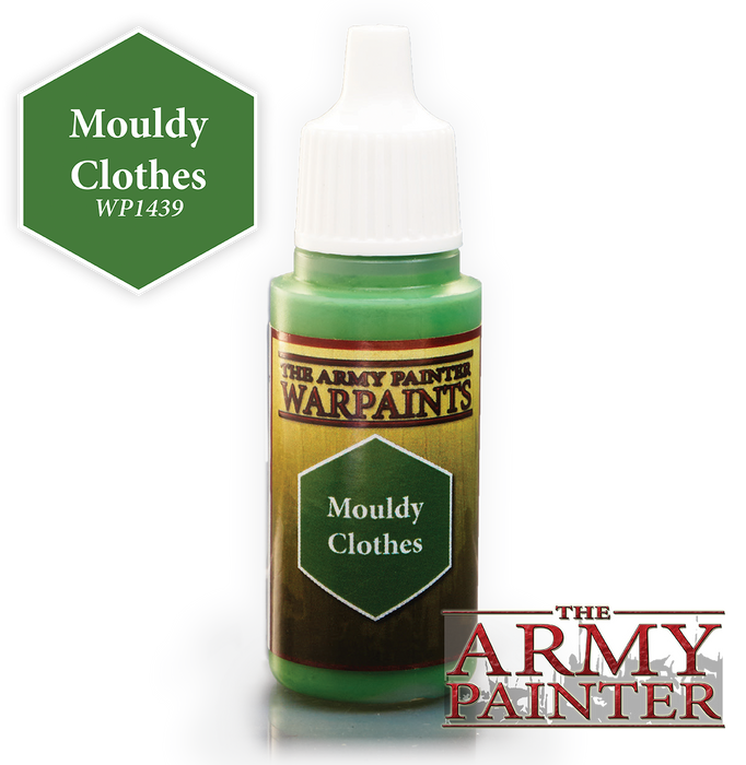 The Army Painter Acrylic Warpaints: Mouldy Clothes 18mL Eyedropper Paint Bottle