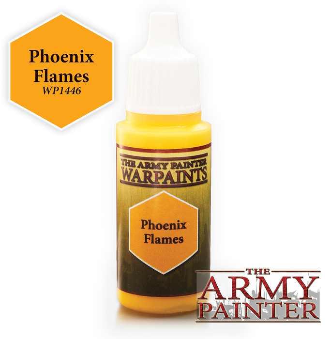 The Army Painter Acrylic Warpaints: Phoenix Flames 18mL Eyedropper Paint Bottle