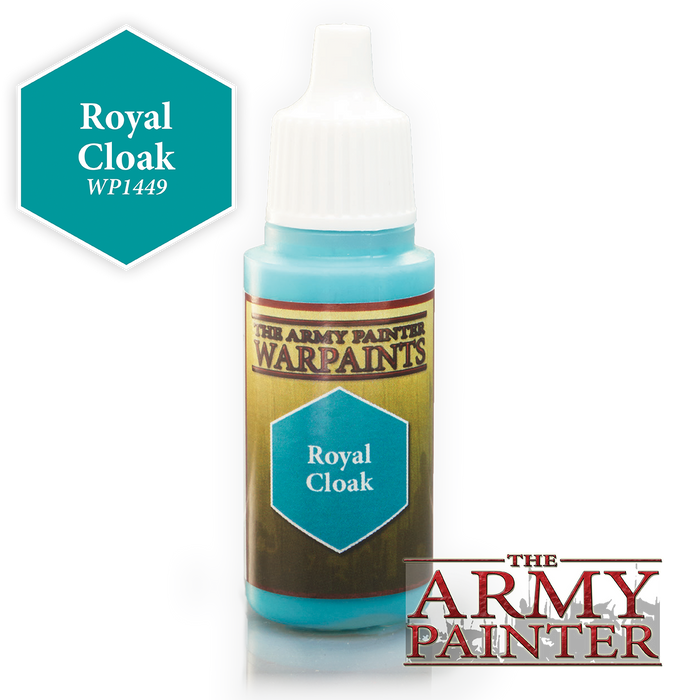 The Army Painter Acrylic Warpaints: Royal Cloak 18mL Eyedropper Paint Bottle