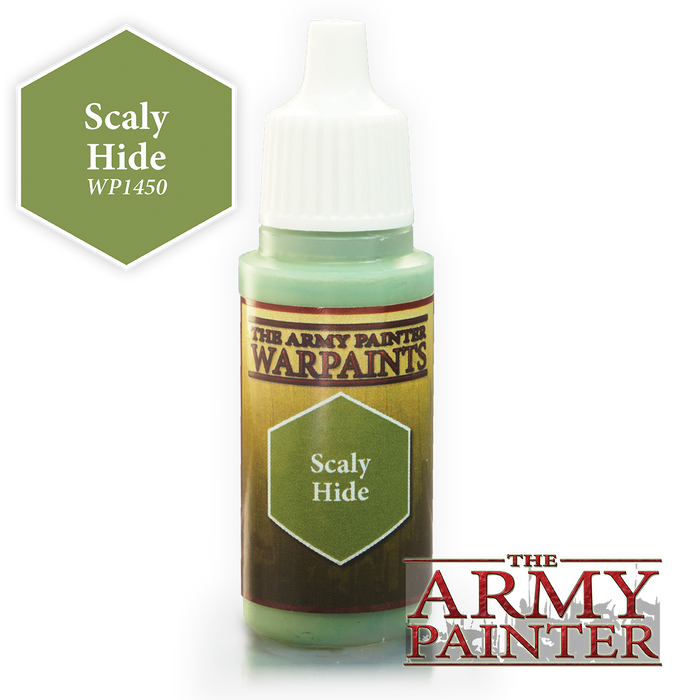 The Army Painter Acrylic Warpaints: Scaly Hide 18mL Eyedropper Paint Bottle
