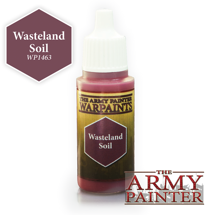 The Army Painter Acrylic Warpaints: Wasteland Soil 18mL Eyedropper Paint Bottle