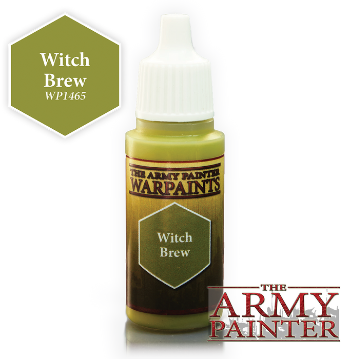 The Army Painter Acrylic Warpaints: Witch Brew 18mL Eyedropper Paint Bottle
