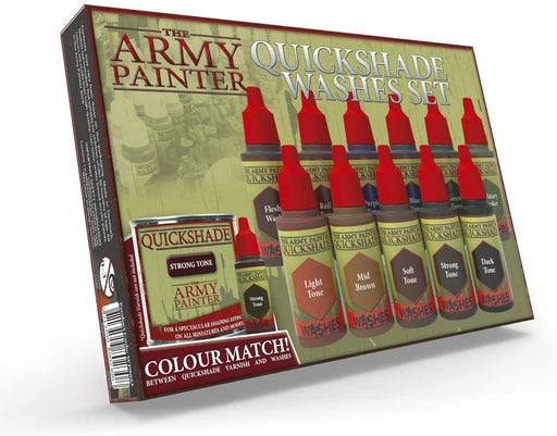 The Army Painter Warpaints: Quickshade Washes Set - 11 Washes