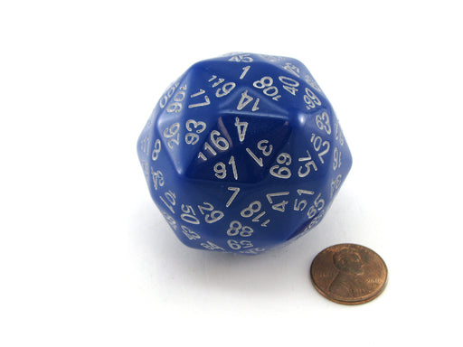 D120 Disdyakis Triacontahedron The Dice Lab 120 Sided Die - Choose Your Color