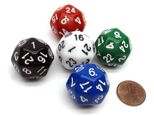 D24 Deltoidal Icositetrahedron The Dice Lab Dice, 1 Piece or Assortment