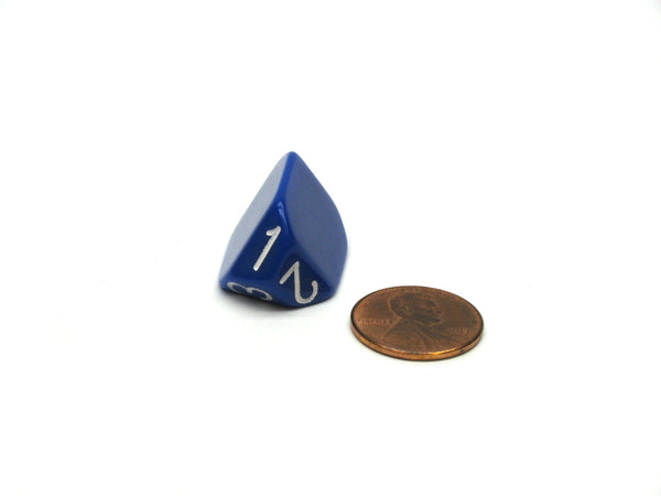 The Dice Lab Unique Individual D3 Die - Blue