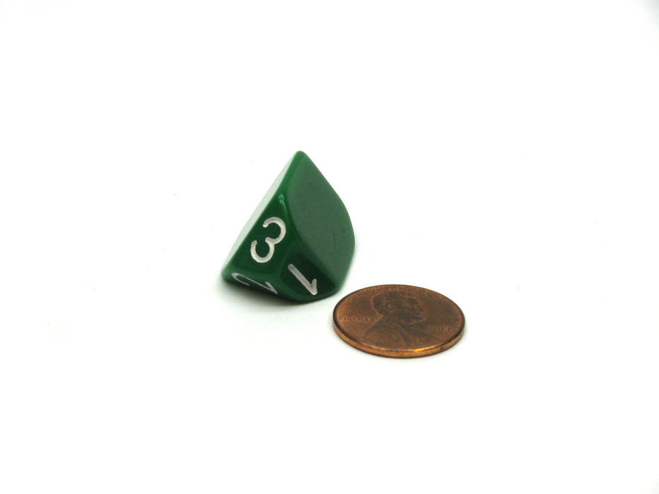 The Dice Lab Unique Individual D3 Die - Green