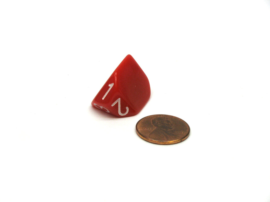 The Dice Lab Unique Individual D3 Die - Red