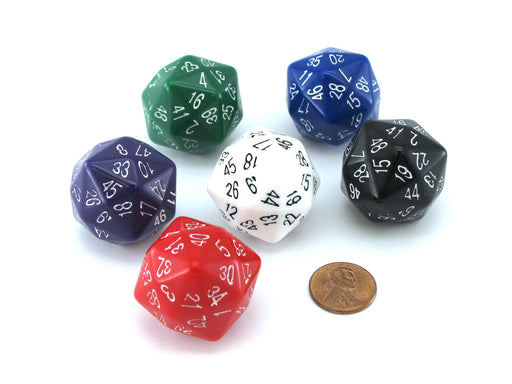 D48 Disdyakis Dodecadron The Dice Lab, 1 Piece or Assortment - Choose Your Color