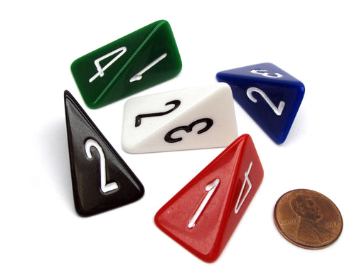 D4 Skew The Dice Lab Die, 1 Piece or Assortment - Choose Your Color