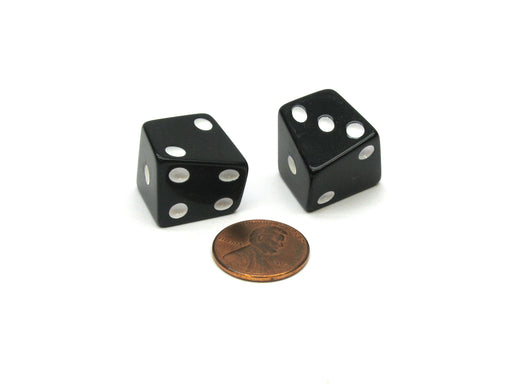 Pair of D6 Skew The Dice Lab Dice - Choose Your Color