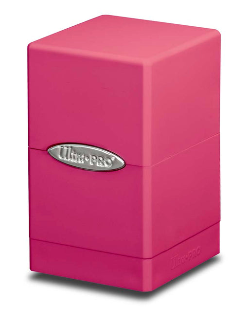 Ultra Pro Satin Tower Deck Box: Bright Pink