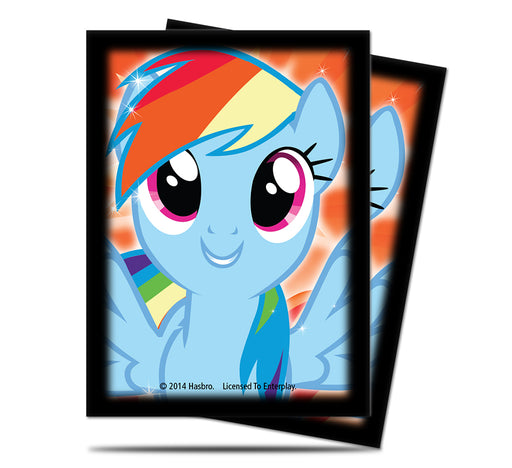 Ultra Pro My Little Pony Rainbow Dash Deck Protector Sleeves (65)