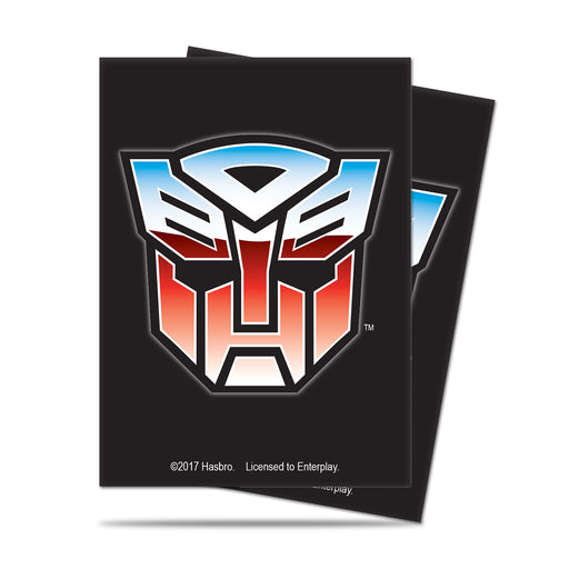 Ultra Pro Transformers: Standard Deck Protector Sleeves - Autobot (65)