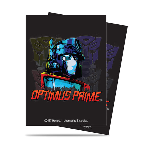 Ultra Pro Transformers: Standard Deck Protector Sleeves - Optimus (65)