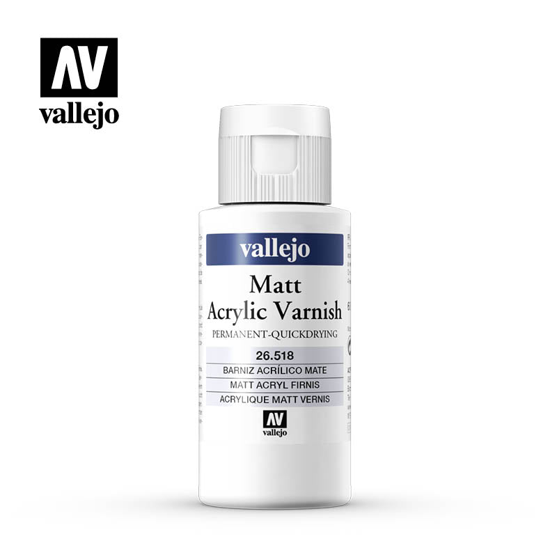 Acrylicos Vallejo Auxiliary Products - Matte Varnish (60ml)