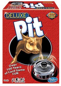 The Deluxe Pit Card Game with Game Bell