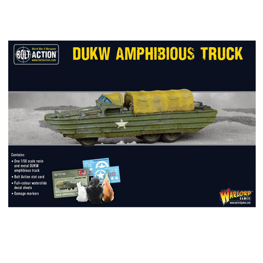 Warlord Games Bolt Action - US DUKW Amphibious Truck
