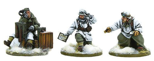Warlord Bolt Action German Heer Forward Observer Team 403012008 Unpainted Mini