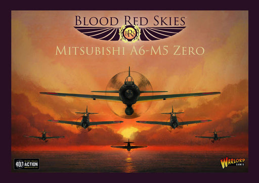 Warlord Games Blood Red Skies - Japanese Mitsubishi A6-M5 Zero (6 Planes)