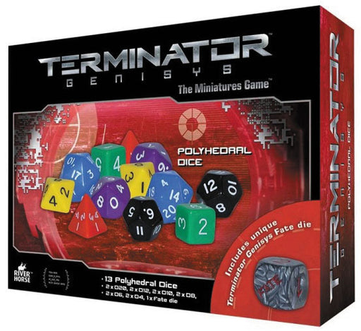 Warlord Games Terminator Genisys: Dice Pack