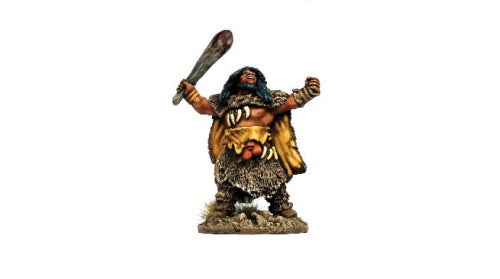 Warlord Games Savage Core: Neanderthal Chief #WG-SC-33 Unpainted Miniature