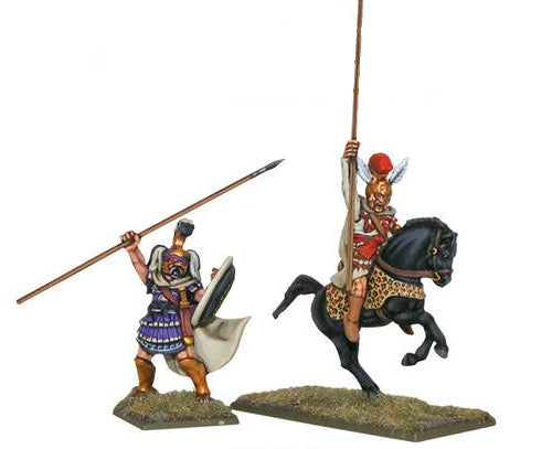 Warlord Hail Caesar Alexander the Great and Philip I of Macedon Unpainted