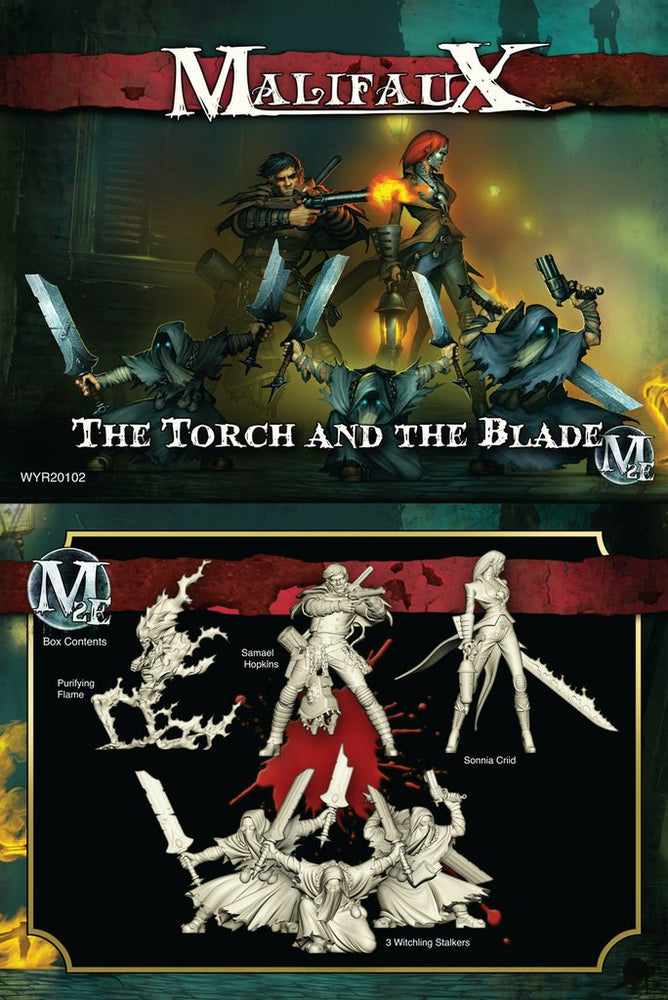Malifaux The Torch & the Blade - Sonnia Crew Box Set (6) Unpainted Plastic Minis