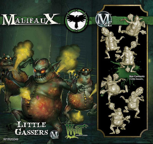 Malifaux Resurrectionists Little Gasser 20249 Unpainted Plastic Miniature Figure