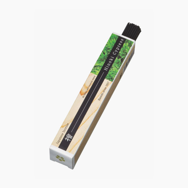 Hinoki Cypress Incense-Baieido-The Fjord Store