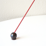 Ball Incense Holder - Black-Hakuhodo Sumitani Saburo-The Fjord Store