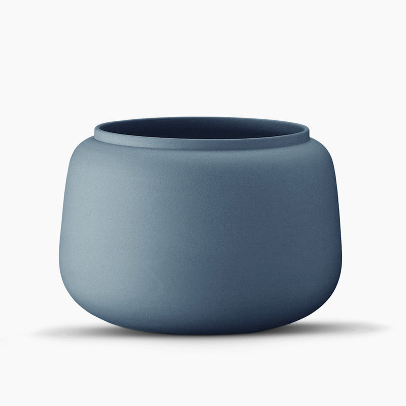 Classic Vase, Wide - Indigo-Ditte Fischer-The Fjord Store